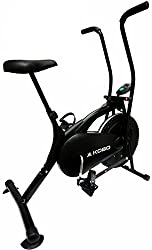 KOBO AIR BIKE DELUX EXERCISE CYCLE BLACK DUAL ACTION / ELECTRONIC METER