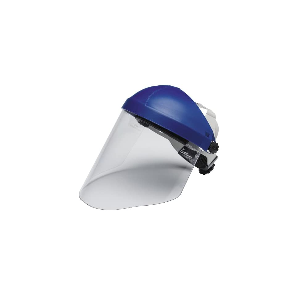 Head and Face Protection 82783-00000 Pack of 1 3M Ratchet Headgear H8A with 3M Clear Polycarbonate Faceshield WP96