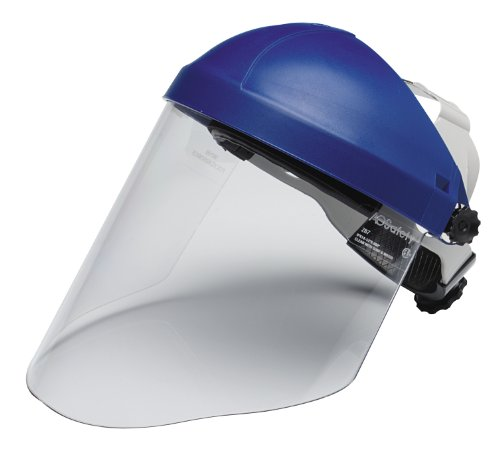 3M Ratchet Headgear H8A, Head And Face Protection 82783-00000, With 3M Clear Polycarbonate Faceshield Wp96 (Pack Of 1) back-981695