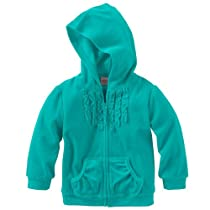SONOMA life + style Ruffled Velour Hoodie - Infant (24 Months, Atlantic Teal)