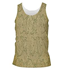Snoogg Patterns Textures Mens Casual Beach Fitness Vests Tank Tops Sleeveless T shirts