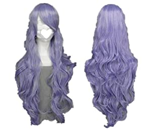 SureWells Chinese New Year On Sale 10% off Vocaloid Series Mix Light Purple Long Curly Cosplay Wig Costume Wigs