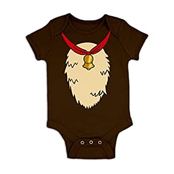Reindeer Costume Baby Grow