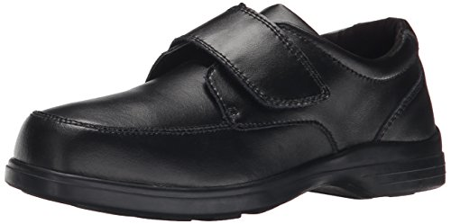 Hush Puppies Gavin Uniform Dress Shoe (Toddler/Little Kid/Big Kid), Black, 3 M US Little Kid (Hush Puppies Shoes Kids compare prices)