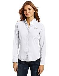 Columbia Women\'s Tamiami II Long Sleeve Shirt, White, Small
