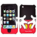 Disney Shield Protector Case for Apple iPhone 3G & 3GS, Mickey Mouse Pants & Gloves