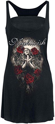Nightwish Angel Top donna nero M