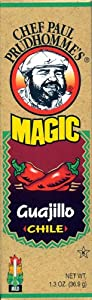 Chef Paul Prudhomme's Magic Seasoning Blends ~ Guajillo Ground Dried Magic Chile, 1.3-Ounce Bottle