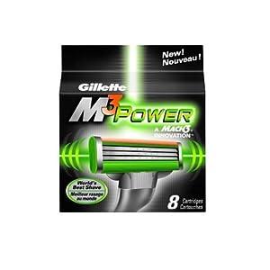Amazon - Gillette M3 Power Cartridge 8-Pack - $11.99