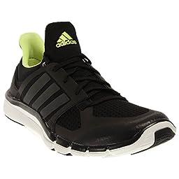 adidas Performance Women\'s Adipure 360.3 W Training Shoe, Black/Grey Metallic/Frozen Yellow, 6.5 M US