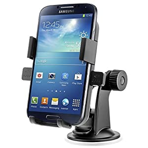 iOttie Easy One Touch XL Windshield Dashboard Car Mount Holder for Galaxy S4, Galaxy Note 2
