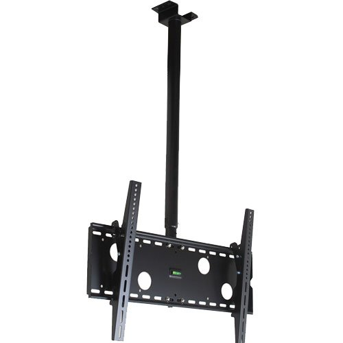 "Videosecu Led Tv Ceiling Mount Lcd Plasma Drop Bracket For Most 37""-60"" Display, Pan 360 Degree Mpc51B 3Kw"