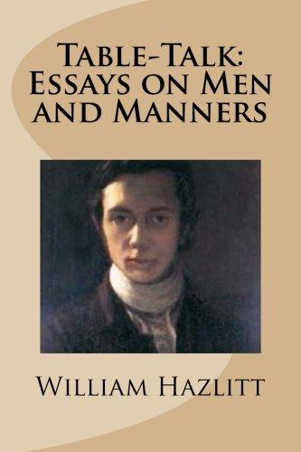 William hazlitt essay prize