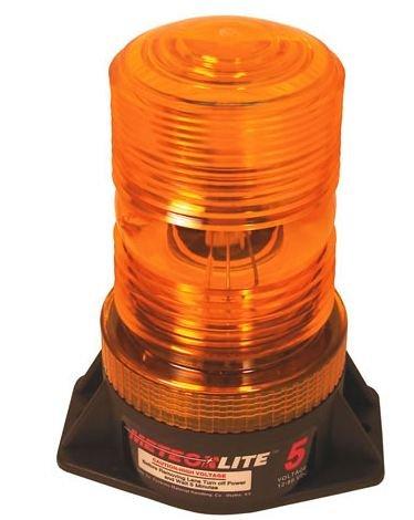 Strobe Light, Amber 12-80Vdc