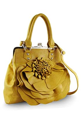 Flower Handbag (Yellow)