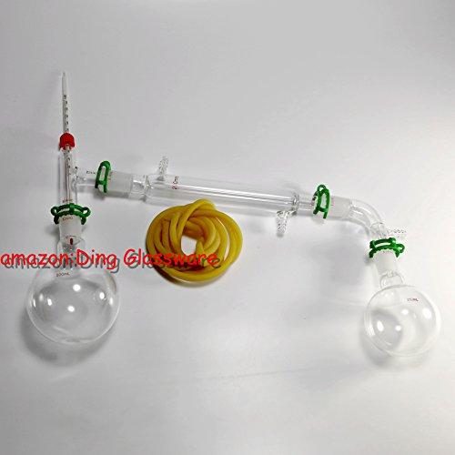 Ding Glassware,500ml Chemistry Lab Glassware Kit,glass Distilling,distillation Apparatus,24/40 (Vacuum Distillation compare prices)