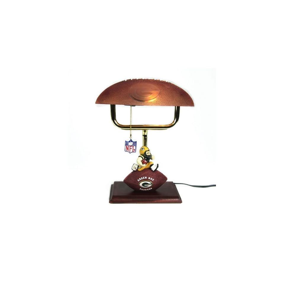 NFL Mascot Desk Lamp w/ Football Shade (14 inch)