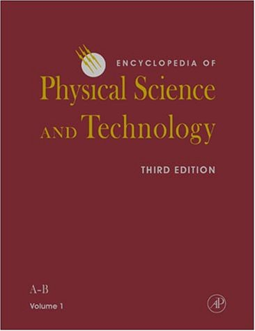 Encyclopedia of Physical Science and Technology, 3rd Edition, 18 volume set