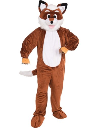Fox Adult Mascot Costume Adult Mens Costume
