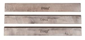 Freud C390 6-1/16-Inch x 3/4-Inch x 1/8-Inch Jointer Knives - 3-Piece Set