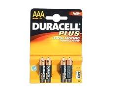 Duracell Plus MN2400 Alkaline AAA Batteries