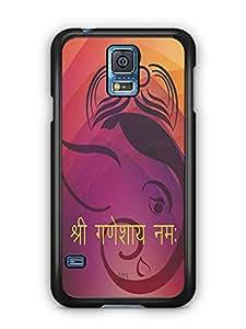 YuBingo Shri Ganeshay Namah Designer Mobile Case Back Cover for Samsung Galaxy S5