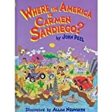 Where in America Is Carmen Sandiego (Golden Storybooks) (0307658597) by Peel, John