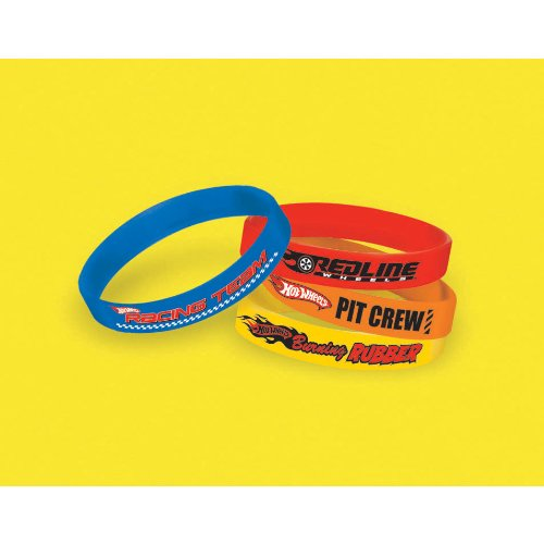 Hot Wheels Wristbands (4-Pack) - 1