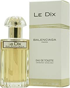 Le Dix By Balenciaga For Women. Eau De Toilette Spray 1 Ounces