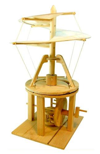 Holz Bausatz 19951, Leonardo da Vinci Hubschrauber, die erste Luftfahrt - Technik