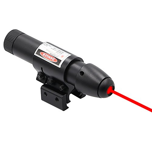 Higoo® Powerful Red Laser Dot Sight, Military Tactical Hungting Red Laser Scope, Red Laser Pointer Presenter Pen Aiming Sight (Military Red Laser compare prices)