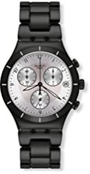 Jacob Time YCB4026AG Swatch Blackas Chronograph Mens Watch