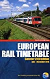 Thomas Cook European Rail Timetable Summer 2010 (Thomas Cook Rail Guides)