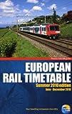 Thomas Cook European Rail Timetable Summer 2010 (Thomas Cook Rail Guides)