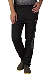 Greenwich United Polo Club Men's Polyester Track Pant (GUPC40_Black_X-Large)