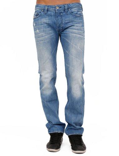 Diesel Safado 8mx Between Straight And Slim Blue Man Jeans Men - W34l32