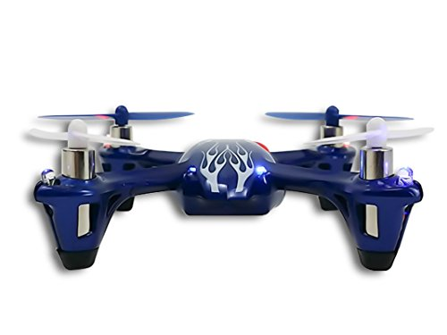Hubsan-X4-H107L-Royal-Blue-H107-LED-with-Bonus-Propeller-Rotor-Protection-Guard-As-shown