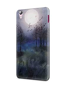 Cover Affair Nature Printed Back Cover Case for Lenovo S850