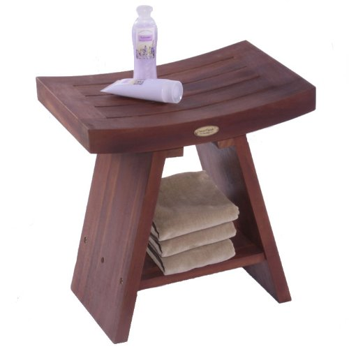 Teak Serenity Shower Bench