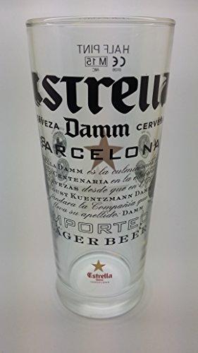 estrella-damm-lot-de-4-verres-a-biere-demi-pinte-10-g-248-millilitres