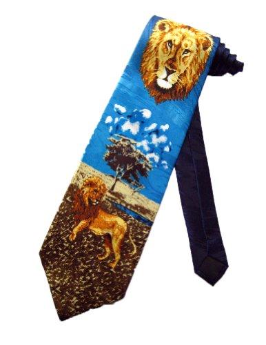 fratello-mens-lion-king-of-the-jungle-necktie-black-one-size-neck-tie