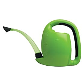 OXO 1069724 Good Grips Indoor Pour & Store 3.17-Quart Watering Can, Green