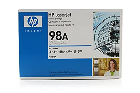 Brother HL-1260 E DX - Original HP 92298A / 98A - Cartouche de Toner Noir -
