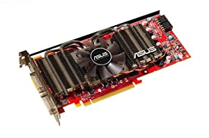 Scheda Video Asus Ati Radeon Hd 4870 Dk - Pci-E 2.0 - 512mb (Ddr5 256bit) - Memory Clk 3.6ghz - Engine Clk 750mhz - TV Out Hdtv Svideo - Dvi-I*2 (Hdcp) - Software Incluso