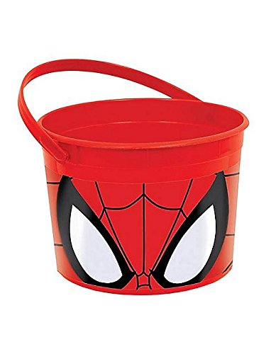 Spiderman Favor Container (Each) - Party Supplies