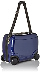 HAUPTSTADTKOFFER - For Kids - Ride-on luggage, Glossy, Hard shell, Darkblue, 30 cm, 22.8 Liter by HAUPTSTADTKOFFER