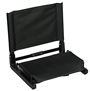 Markwort Patented Stadium Chair (Black)