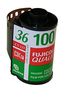 Fujifilm Quality Fujicolor CN 100 35mm x 36 Exp Color Print Film