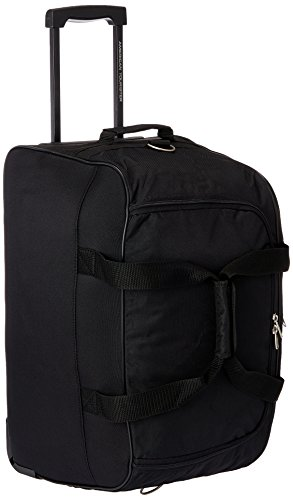 American Tourister Polyester Black Travel Duffle (Y65 (0) 09 357)