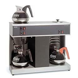 Pour-O-Matic Three-Burner Pour-Over Coffee Brewer by Bunn